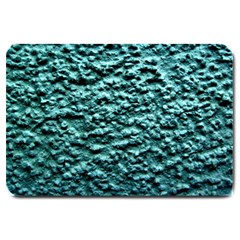 Green Metallic Background, Large Doormat