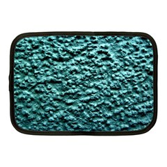 Green Metallic Background, Netbook Case (medium)  by Costasonlineshop