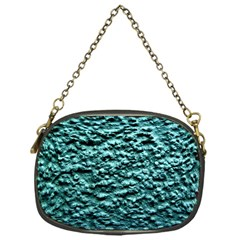 Green Metallic Background, Chain Purses (one Side)  by Costasonlineshop