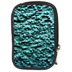 Green Metallic Background, Compact Camera Cases