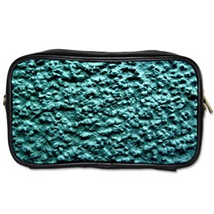 Green Metallic Background, Toiletries Bags 2 Side by Costasonlineshop