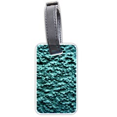 Green Metallic Background, Luggage Tags (two Sides) by Costasonlineshop
