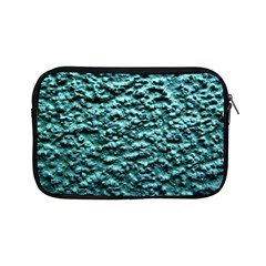 Green Metallic Background, Apple Ipad Mini Zipper Cases by Costasonlineshop