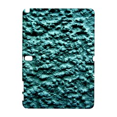 Green Metallic Background, Samsung Galaxy Note 10 1 (p600) Hardshell Case by Costasonlineshop