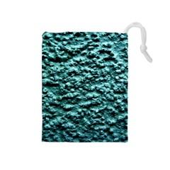 Green Metallic Background, Drawstring Pouches (medium)