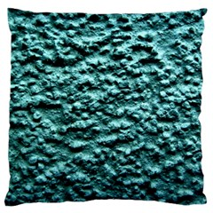 Green Metallic Background, Large Flano Cushion Cases (two Sides)  by Costasonlineshop