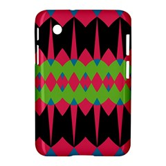 Rhombus And Other Shapes Pattern			samsung Galaxy Tab 2 (7 ) P3100 Hardshell Case by LalyLauraFLM