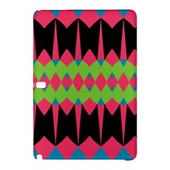 Rhombus And Other Shapes Pattern			samsung Galaxy Tab Pro 10 1 Hardshell Case by LalyLauraFLM