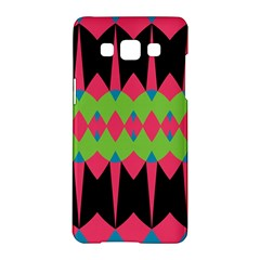 Rhombus and other shapes pattern			Samsung Galaxy A5 Hardshell Case by LalyLauraFLM