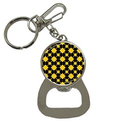 Connected Rhombus Pattern			bottle Opener Key Chain by LalyLauraFLM