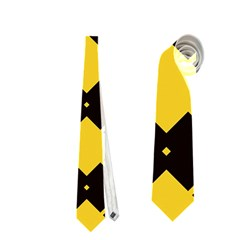 Connected Rhombus Pattern Necktie