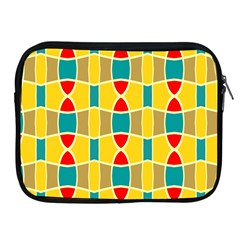 Colorful Chains Pattern			apple Ipad 2/3/4 Zipper Case by LalyLauraFLM