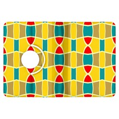 Colorful Chains Patternkindle Fire Hdx Flip 360 Case by LalyLauraFLM