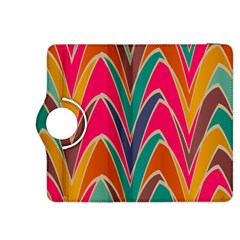 Bended Shapes In Retro Colorskindle Fire Hdx 8 9  Flip 360 Case by LalyLauraFLM