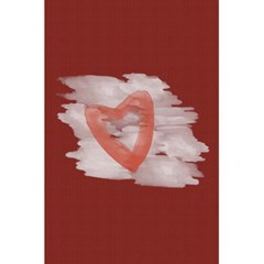 Bright Red Watercolor Heart Love By Lucy   5 5  X 8 5  Notebook   O5rxumpmae04   Www Artscow Com Front Cover