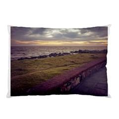 Playa Verde Coast In Montevideo Uruguay Pillow Cases