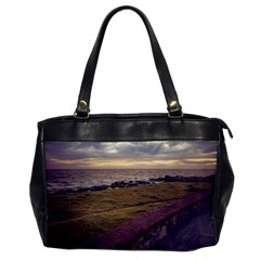 Playa Verde Coast In Montevideo Uruguay Office Handbags by dflcprints