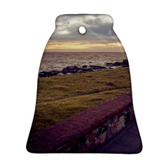 Playa Verde Coast In Montevideo Uruguay Bell Ornament (2 Sides) by dflcprints