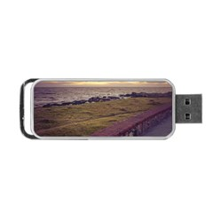 Playa Verde Coast In Montevideo Uruguay Portable Usb Flash (two Sides) by dflcprints
