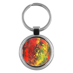 Wild Key Chains (round)  by timelessartoncanvas