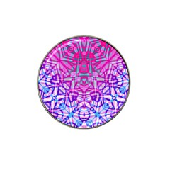 Ethnic Tribal Pattern G327 Hat Clip Ball Marker (4 Pack) by MedusArt