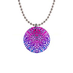 Ethnic Tribal Pattern G327 Button Necklaces by MedusArt