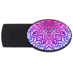 Ethnic Tribal Pattern G327 Usb Flash Drive Oval (4 Gb)  by MedusArt