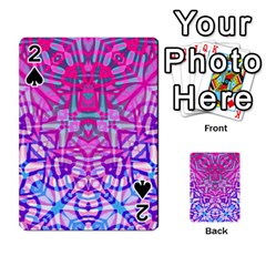Ethnic Tribal Pattern G327 Playing Cards 54 Designs  by MedusArt
