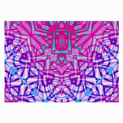 Ethnic Tribal Pattern G327 Large Glasses Cloth (2 Side) by MedusArt
