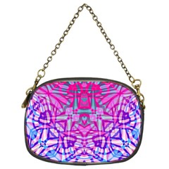 Ethnic Tribal Pattern G327 Chain Purses (two Sides)  by MedusArt