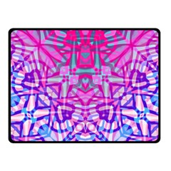 Ethnic Tribal Pattern G327 Fleece Blanket (small) by MedusArt