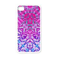 Ethnic Tribal Pattern G327 Apple Iphone 4 Case (white) by MedusArt