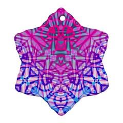 Ethnic Tribal Pattern G327 Ornament (snowflake)  by MedusArt