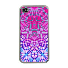 Ethnic Tribal Pattern G327 Apple Iphone 4 Case (clear) by MedusArt