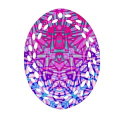 Ethnic Tribal Pattern G327 Ornament (oval Filigree)  by MedusArt