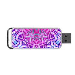 Ethnic Tribal Pattern G327 Portable Usb Flash (one Side) by MedusArt