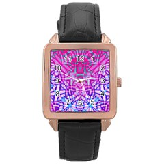 Ethnic Tribal Pattern G327 Rose Gold Watches by MedusArt