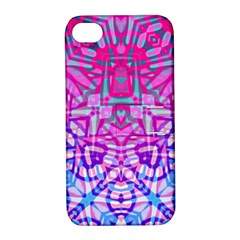 Ethnic Tribal Pattern G327 Apple Iphone 4/4s Hardshell Case With Stand by MedusArt