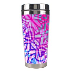 Ethnic Tribal Pattern G327 Stainless Steel Travel Tumblers by MedusArt