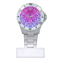 Ethnic Tribal Pattern G327 Nurses Watches by MedusArt
