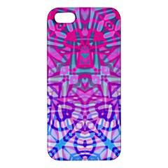 Ethnic Tribal Pattern G327 Iphone 5s Premium Hardshell Case by MedusArt
