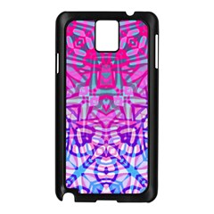 Ethnic Tribal Pattern G327 Samsung Galaxy Note 3 N9005 Case (black) by MedusArt