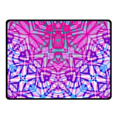 Ethnic Tribal Pattern G327 Double Sided Fleece Blanket (small)  by MedusArt