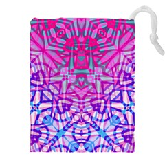 Ethnic Tribal Pattern G327 Drawstring Pouches (xxl) by MedusArt
