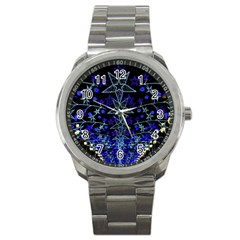 Christmas Stars Sport Metal Watches by trendistuff