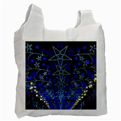 Christmas Stars Recycle Bag (two Side)  by trendistuff