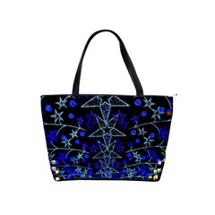 Christmas Stars Shoulder Handbags by trendistuff
