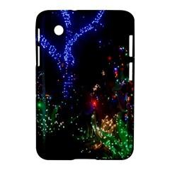 Christmas Lights 2 Samsung Galaxy Tab 2 (7 ) P3100 Hardshell Case  by trendistuff