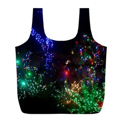 Christmas Lights 2 Full Print Recycle Bags (l)  by trendistuff