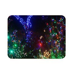 Christmas Lights 2 Double Sided Flano Blanket (mini)  by trendistuff